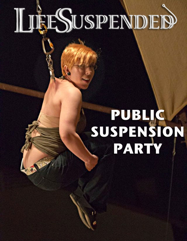 Life Suspended Public Suspension Party Saturday May 3rd 12:00 pm